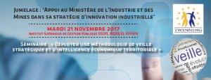 Séminaire : Déployer une méthodologie de veille stratégique et d'intelligence économique territoriale @ Institut Supérieur de Gestion Publique (ISGP)